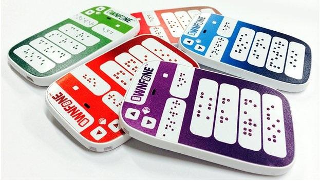 Comercializan el primer teléfono Braille en el mundo