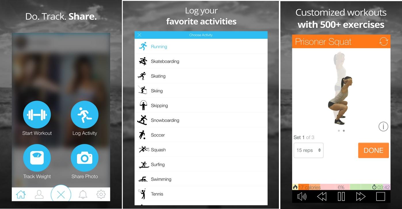 Mejore su estado físico con rutinas personalizadas, gratis para iPhone, iPad, iPod, Android
