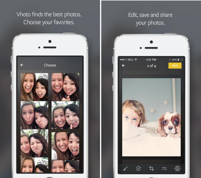 Escoja automáticamente las mejores fotos de sus videos, gratis para iPhone, iPad, iPod