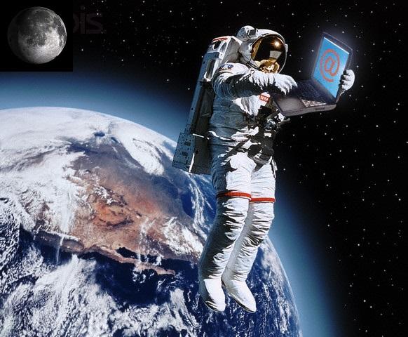 Convierten a la Luna en un punto de acceso Wi-Fi