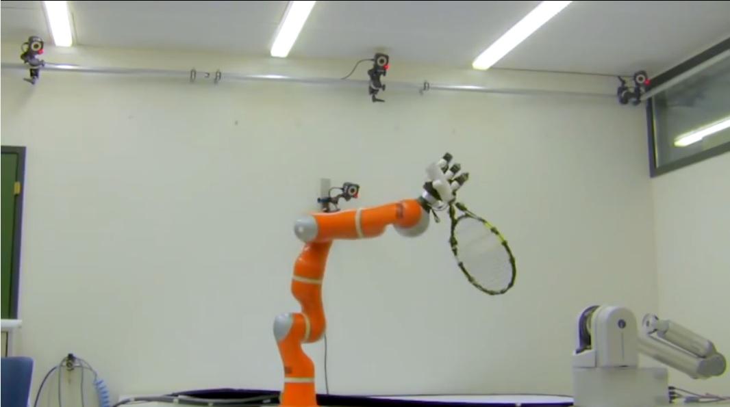 Robot veloz y ágil para atrapar objetos