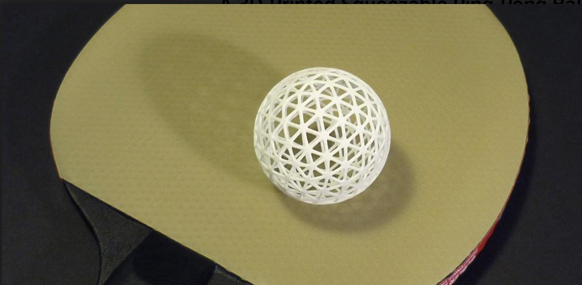 Bolas de ping-pong prácticamente indestructibles
