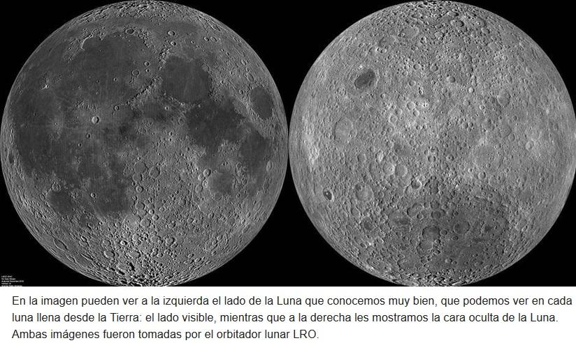 Resuelven misterio del lado oscuro de la Luna