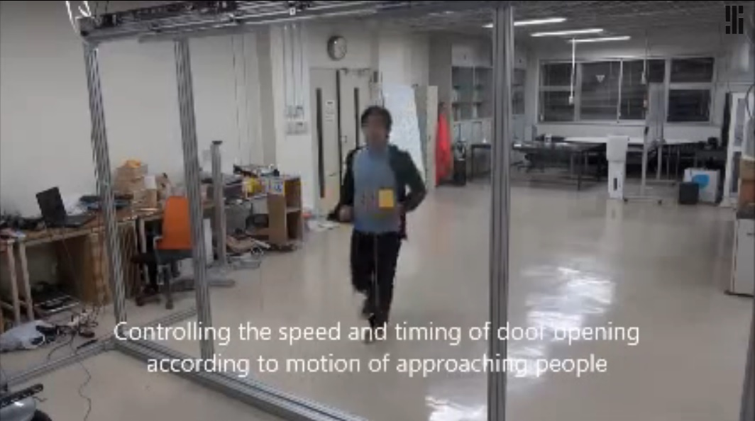Sensor que hace a las puertas automáticas más inteligentes