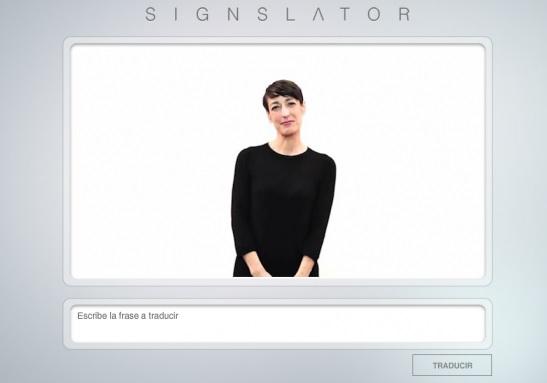 Traductor de palabras a lenguaje de señas