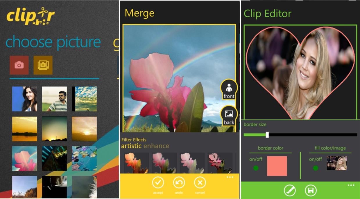 Combine sus fotos preferidas con el fondo de pantalla, gratis para Windows Phone