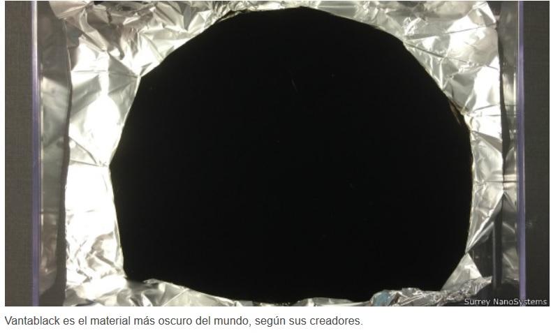 Crean el material más negro del mundo