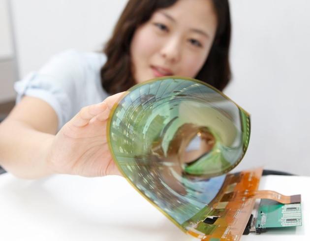 LG fabrica pantalla OLED de 18 pulgadas flexible y enrollable