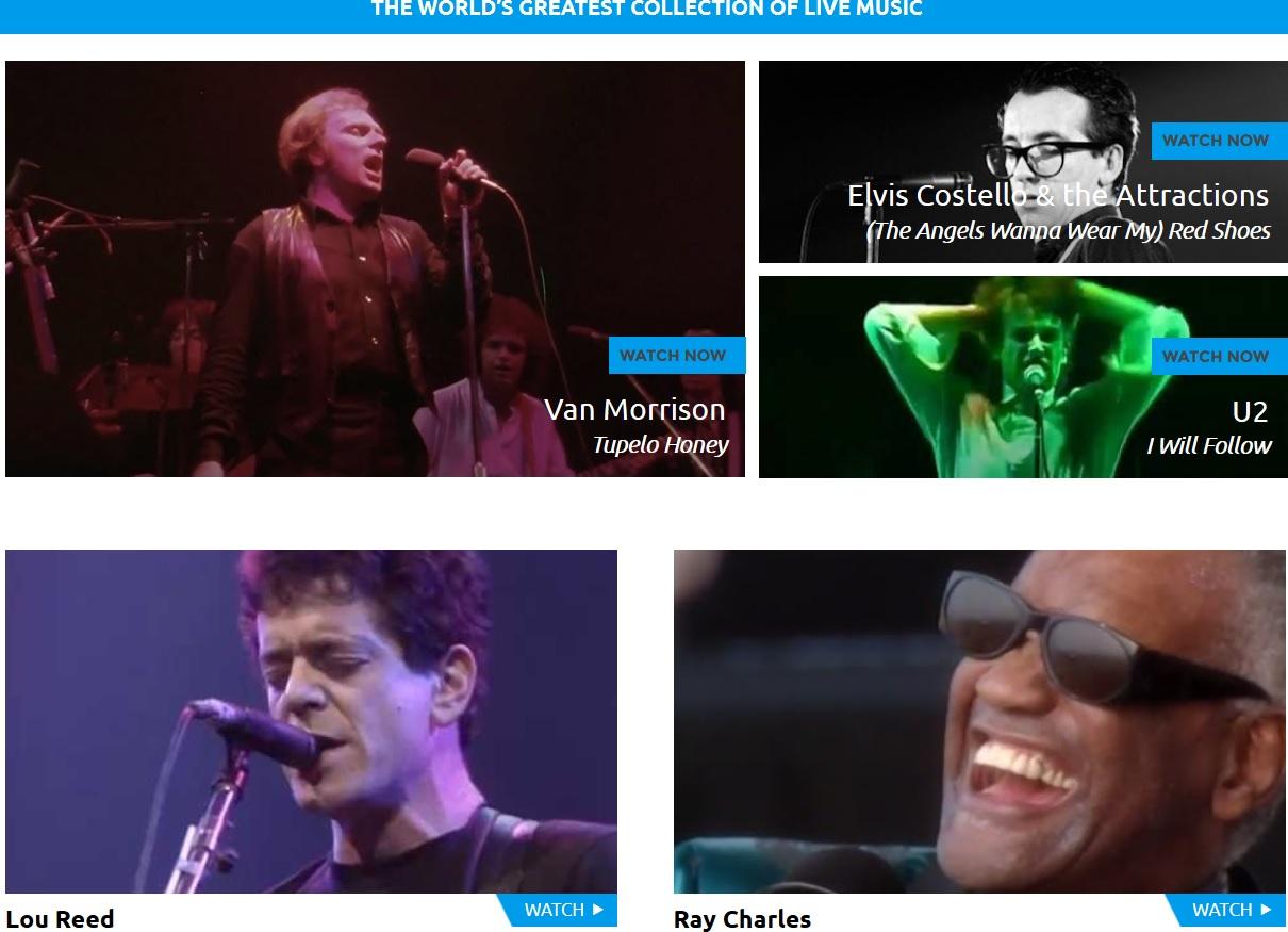 Liberados 12 mil clips de clásicos del rock en YouTube