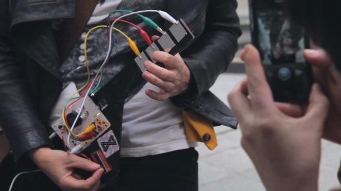 Sintetizador que crea música con cualquier objeto