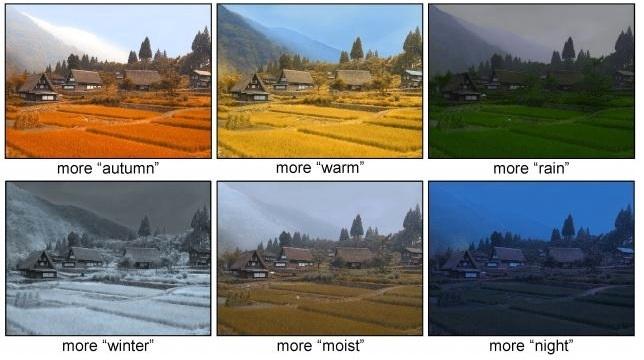 Algoritmo cambia automáticamente clima y estación de fotografías