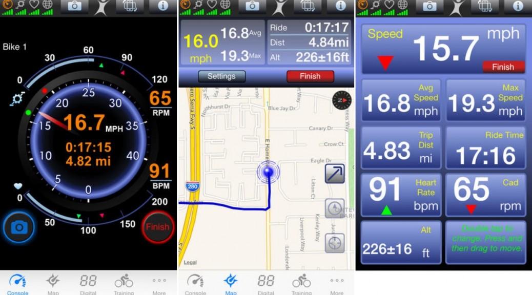 Registre la información de sus entrenamientos en bicicleta, gratis para iPhone, iPad, iPod