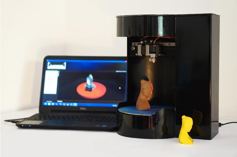 Fabrican la primera impresora 3D multifuncional