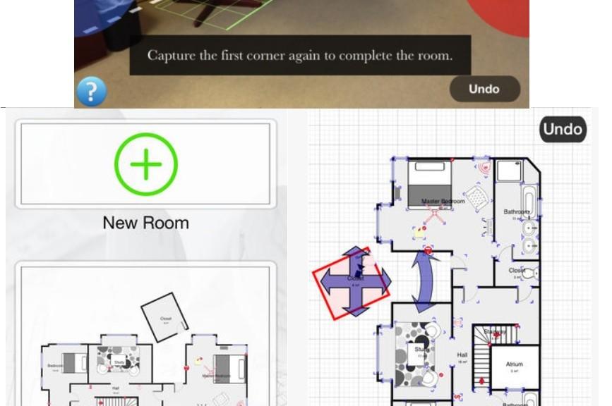 Dibuje los planos de su casa desde su dispositivo móvil, gratis para iPhone, iPad, iPod, Android