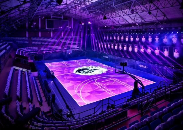 cancha interactiva de basquetbol foto 2