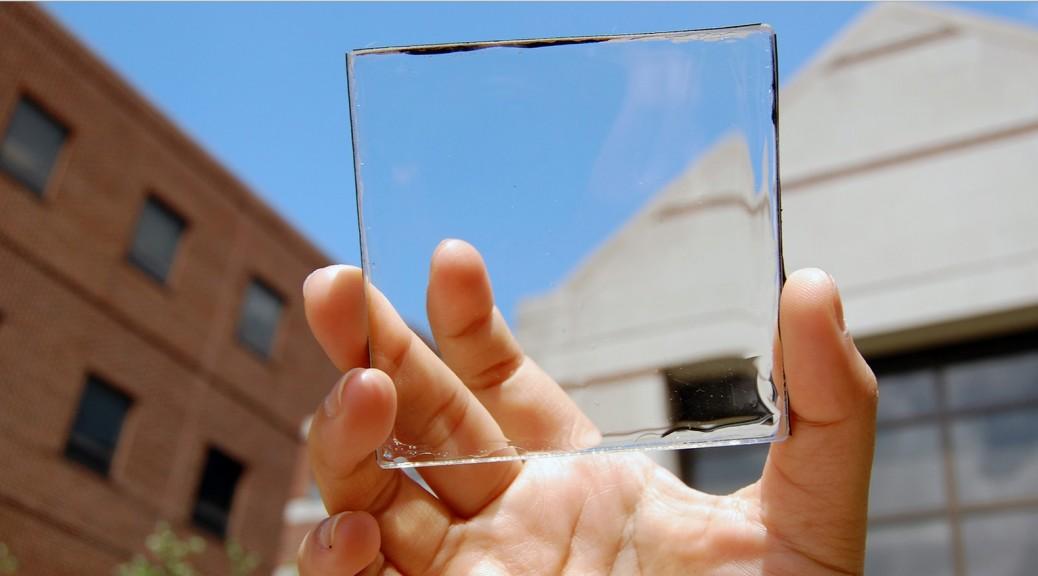 Energía solar que no bloquea la vista