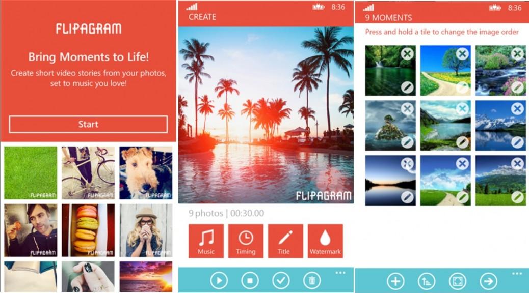 Haga cortos con sus fotos y música preferida, gratis para iPhone, iPad, iPod, Android, Windows Phone