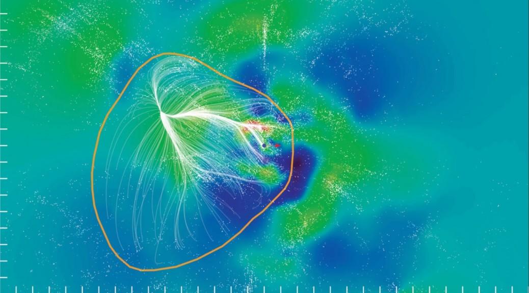 Conozcan a Laniakea, el supercúmulo colosal en que vivimos en el Universo