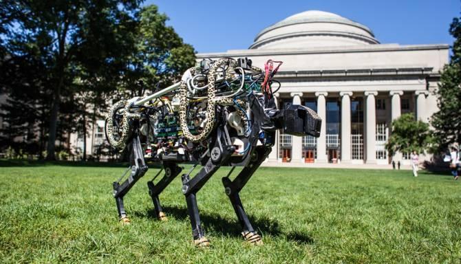 MIT trabaja en robot guepardo