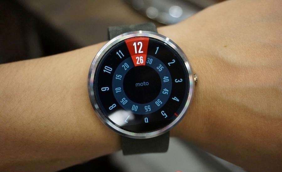 Presentan el reloj inteligente Motorola Moto 360