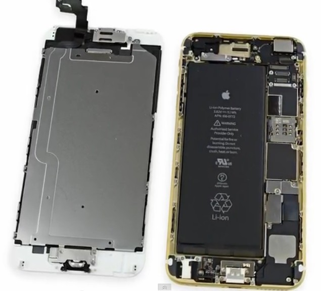 Cómo es el iPhone 6 Plus por dentro - PDM Productos