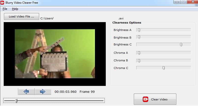 Mejore la calidad de sus videos con Blurry Video Clearer