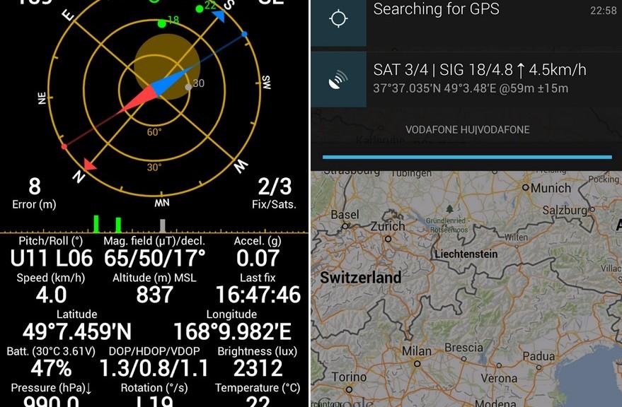 Herramienta de control del GPS de su equipo, gratis para Android