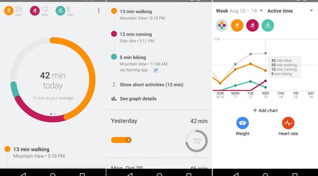 Google Fit le ayuda a cumplir sus objetivos de entrenamiento, gratis para Android
