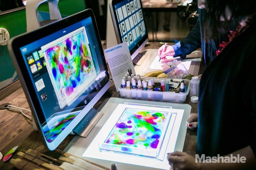 Hewlett-Packard presenta su PC con escáner de objetos 3D