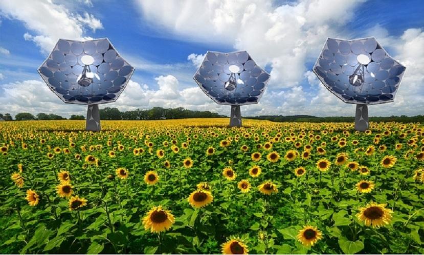 Concentrador solar produce energía y agua simultáneamente