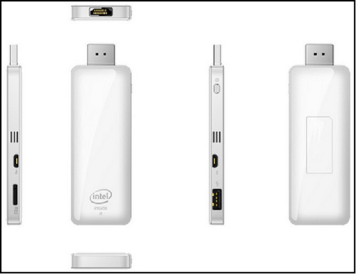 Computador Intel tamaño pendrive corre Windows 8.1