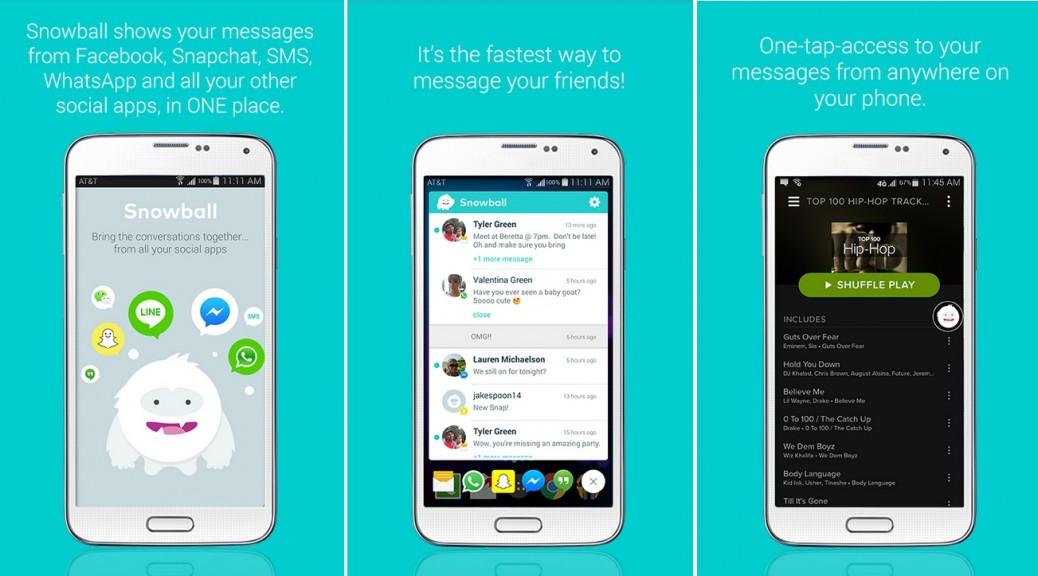 Maneje todos los mensajes de sus aplicaciones sociales, gratis para Android