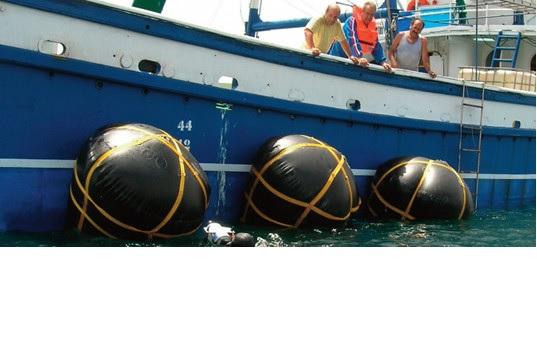 Ahora los barcos tendrán su propio airbag