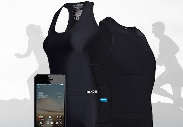 Una camiseta inteligente que registra actividad física y sueño
