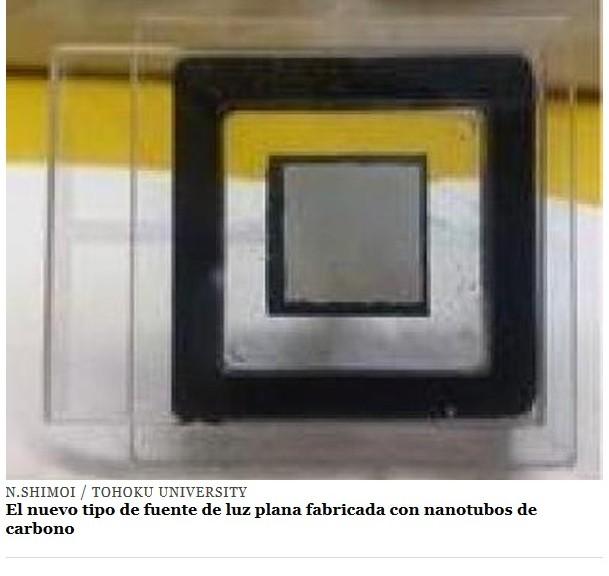 Inventan luces planas, 100 veces más eficientes que las LEDs