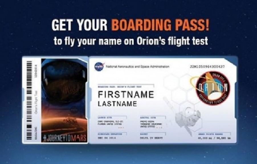 La NASA lo invita a enviar su nombre a Marte