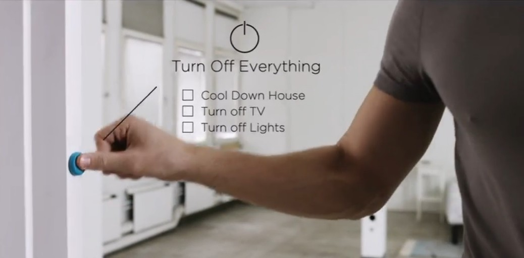 Botón inalámbrico inteligente para controlar su mundo