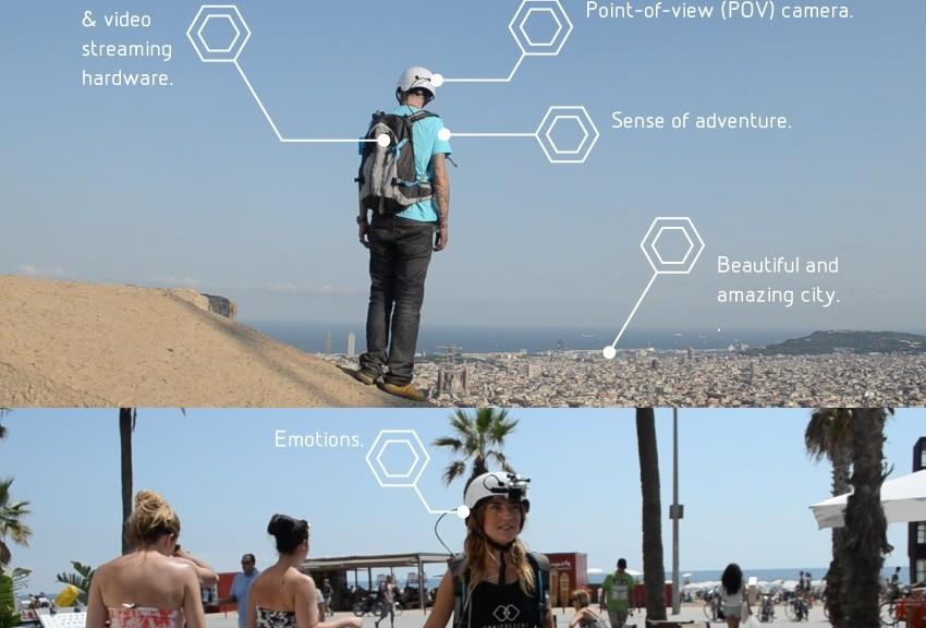 Explore el mundo con su propio avatar humano