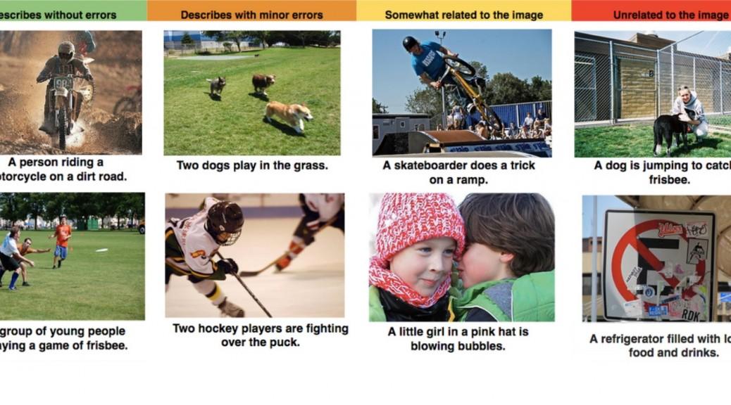 Software de reconocimiento de imágenes que describe escenas completas