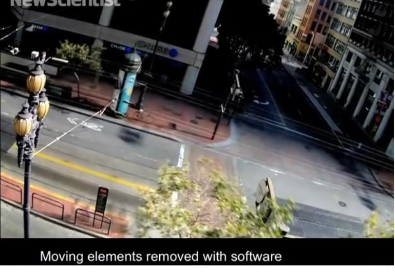 Cámaras de vigilancia que observan los sitios y no a las personas
