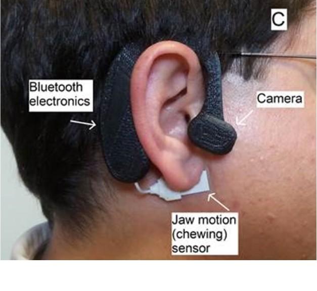 Un sensor en su oreja le ayudará a vigilar su dieta