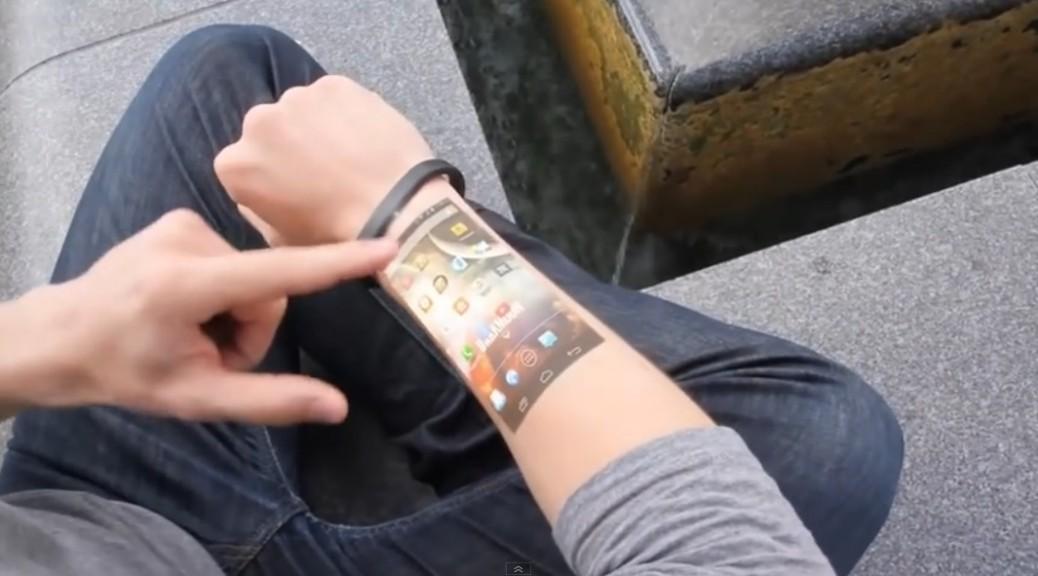 El brazalete que podría reemplazar su tablet