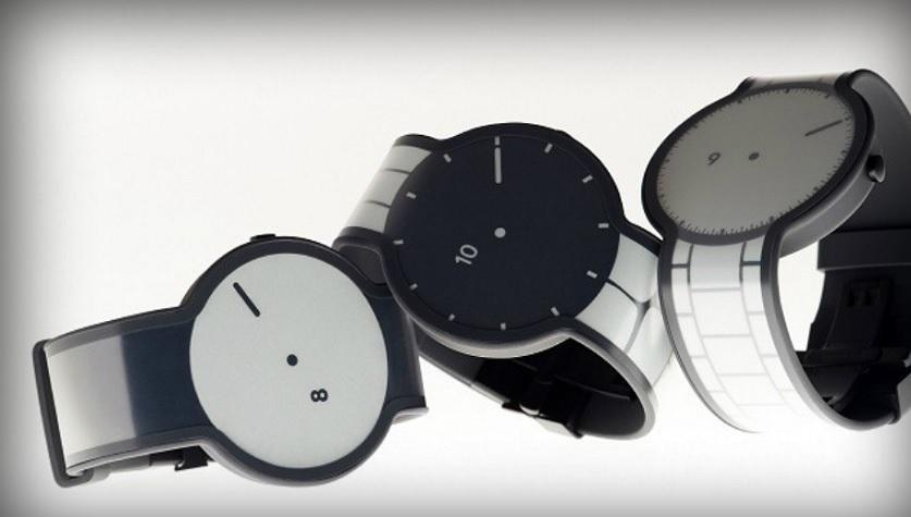 Sony trabaja en un reloj fabricado completamente con papel electrónico