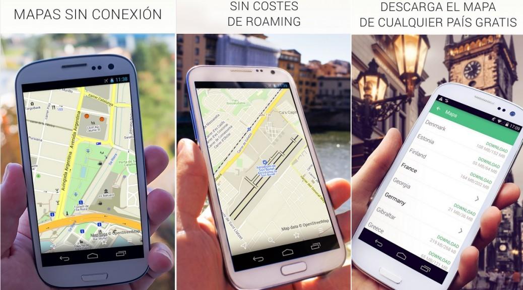 Mapas de todos los países del mundo, sin conexión a Internet, gratis para Android