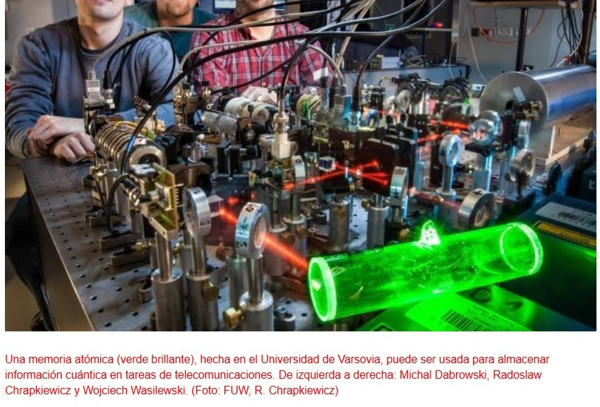 Desarrollan memoria cuántica fácil de fabricar