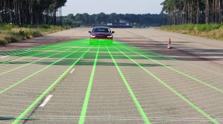 Cómo funciona el sistema de detección de peatones de Ford