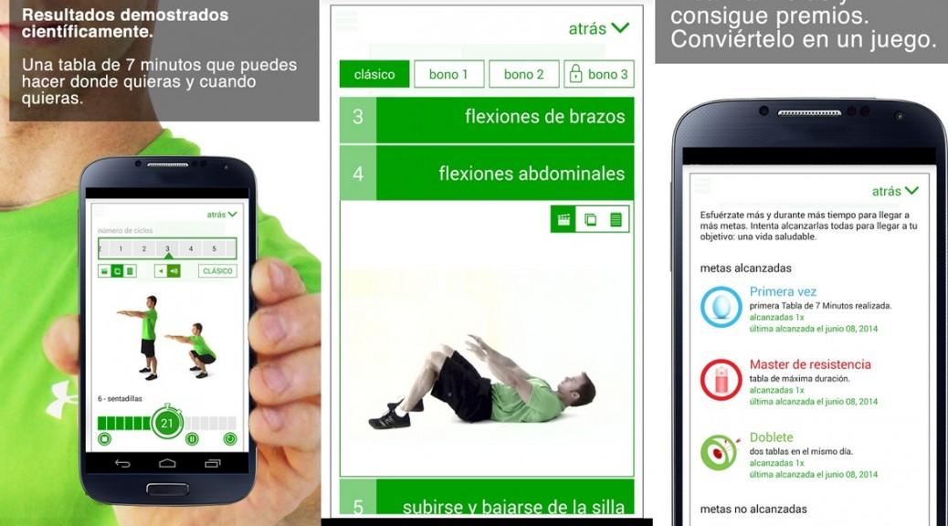 Haga ejercicio de alto metabolismo durante 7 minutos, gratis para Android