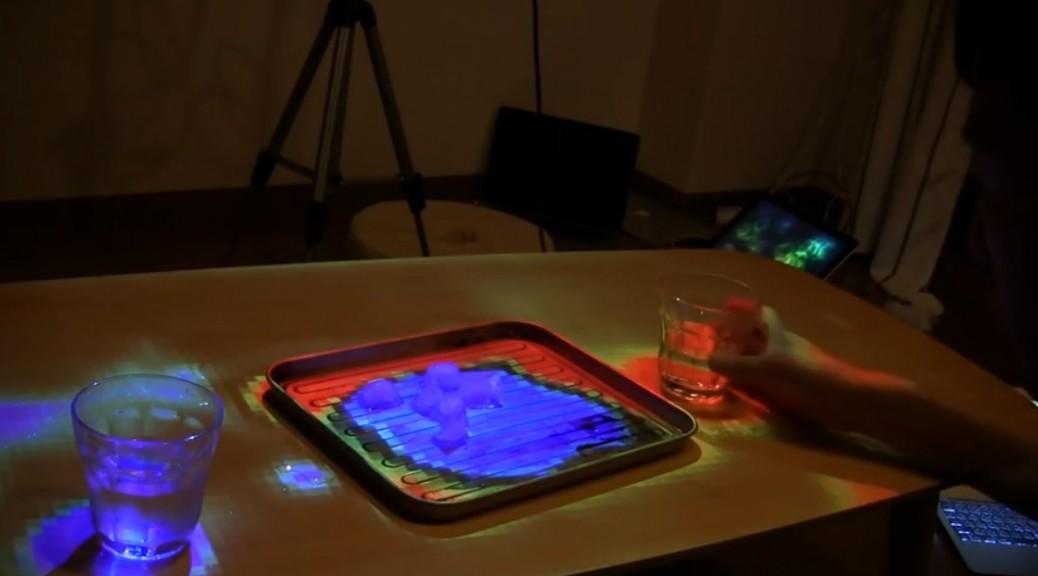 Una mesa que le indica qué tan calientes están las bebidas