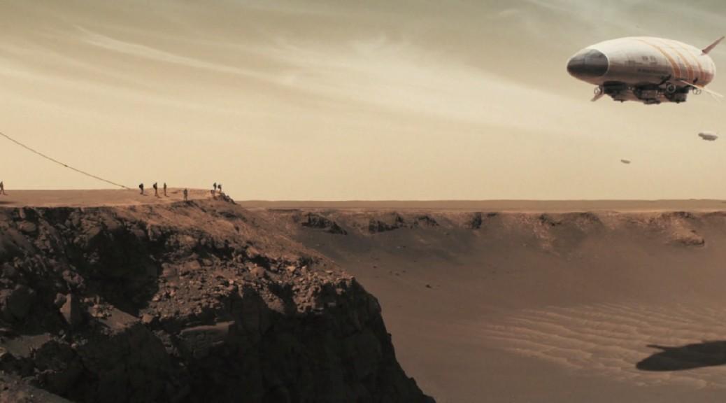 Cortometraje de lo que podría llegar a ser la exploración espacial