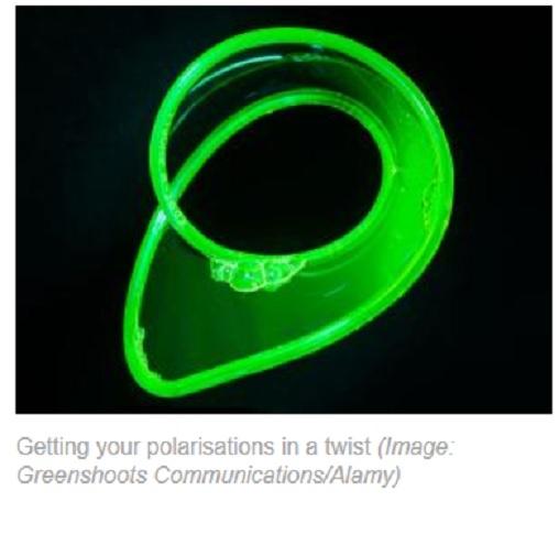 Consiguen crear por primera vez cintas de Möbius hechas con luz